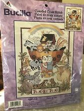 NEW Noah's Ark Two  by Two CTD CROSS STITCH Kit Bucilla 42982
