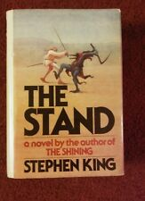 Stephen King The Stand First Edition Stated $12.95 Jacket  T39 on page 823