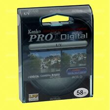 Genuine Kenko 58mm Pro1 D Pro 1 Digital UV Filter Pro1D Pro 1D DMC Multi Coated