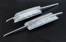 BMW M 3-Series E46 PreFacelift LED Clear Side Marker Lights Turn Signals Blinker