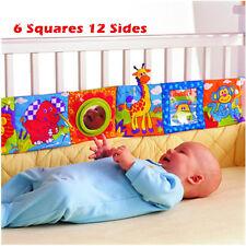 Espejo Animal Libro De Tela Niño Bebé Inteligencia Desarrollo Juguete Cama