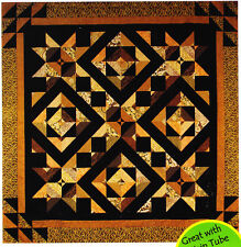 """Star Crossed - pieced quilt PATTERN for 2.5"""" strips - Cozy Quilts pattern"""