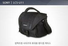 SONY LCS-U11 Compact Camcorder & Camera Bags