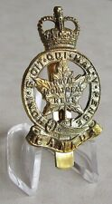 CANADA ARMY Canadian  The Royal Montreal Regiment  Hat Cap Badge