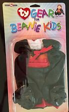 "SCARY TY GEAR ""THE COUNT DRACULA"" OUTFIT FOR TY BEANIE KIDS AND BIG BEANIES!"