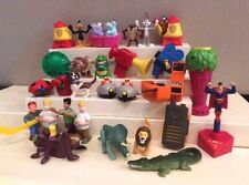 Large Vintage Happy Meal Toy Lot - McDonald's & Burger King - 1990's - 29 Pieces
