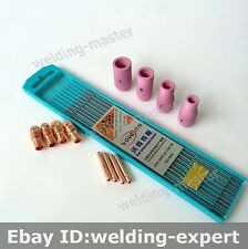 Tig Welding Torch Consumables TIG-9 WP 9 20 25 Series Tungsten Electrode Kit