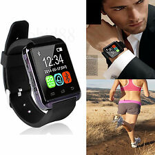 Black Bluetooth Smart Wrist Watch Phone Mate For Android HTC Desire 320 610 820