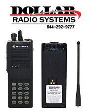 Used Motorola HT1000 UHF 450-512Mhz 16Ch 4WDTMF Full Keypad H01SDC9AA3DN