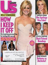 KELLY OSBOURNE US Weekly Magazine October 4, 2010 10/4/10 LINDSAY LOHAN B-1-1