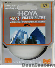 Genuine Hoya 67mm HMC UV(C) Multi-Coated Slim Filter