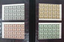 Berlin Heinemann 20 x  postfrisch großen Einheiten Bogenstücke Michel 640 Euro
