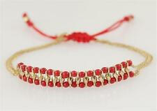 New Stella & Dot Red Foundation Slide Bracelet
