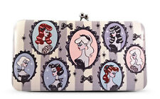 New FLUFF Kiss Lock Wallet CAMEO DOLLS PINUP GIRL Pink Gift Bag VEGAN LEATHER