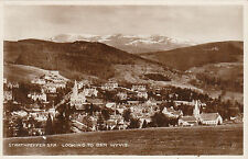 Looking To Ben Wyvis, STRATHPEFFER SPA, Ross-shire RP