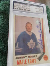JOHNNY BOWER HAND SIGNED 1969 O-PEE-CHEE CARD PSA ENCAPSULATED