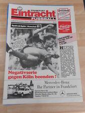 Stadionzeitung Eintracht Frankfurt vom 19.08.1988 gegen 1 FC Köln