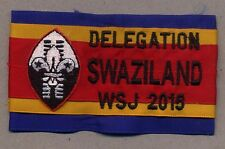 23rd world scout jamboree SWAZILAND CONTINGENT 2015