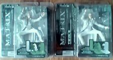 MCFARLANE THE MATRIX RELOADED SERIES ONE TWIN 1 AND TWIN TWO NEW