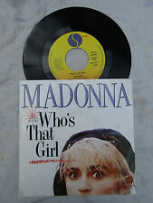 MADONNA WHO'S THAT GIRL / WHITE HEAT GERMAN SIRE  N/M .. 45rpm