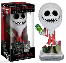 Bobble-head Tim Burton Nightmare Before Christmas Santa Jack Wacky 18 cm Funko