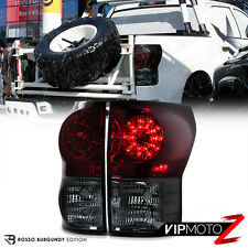 Smoke+Red Rear Brake Assembly LED SMD Signal Tail Light Toyota Tundra 2007-2013
