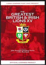 JOHN INVERDALE-THE GREATEST BRITISH & IRISH LIONS XV - Rugby - DVD