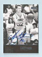CHRISTIAN LAETTNER 2010/11 ULTIMATE COLLECTION SIGNATURE AUTOGRAPH AUTO