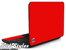 LidStyles RED Vinyl Laptop Skin Cover Protector Decal fits HP PAVILION G6