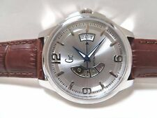 GUESS COLLECTION, SWISS  MEN'S  AUTOMATIC STAINLESS WATCH, X84004g1S, NIB  $650.