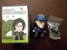"Edward Scissorhands Titans ""I'm Not Finished"" Vinyl Figure - EDWARD W/HAT"