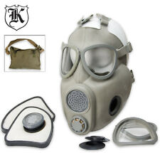 Czech M10 Unissued Military NBC & Tear Gas Mask w/Bag & Sealed Filter-Never Worn