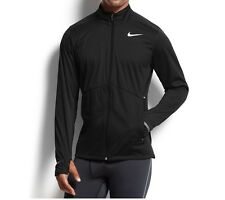 Nike Dri-Fit Element Shield FZ Black Men's Running Breathable Jacket Size XL 48""