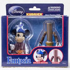 Disney Fantasia Kubrick figure set Mickey Mouse Broom Medicom Toy JAPAN ANIME