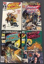 GHOST RIDER lot of (4) issues as shown (1992) Marvel Comics VG+/FINE+