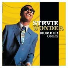 Stevie Wonder Number Ones CD NEW SEALED Superstition/Sir Duke/Ebony & Ivory+