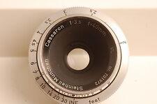 Steinheil München 40mm f3.5 Cassaron VL Lens Exakta Mount Excellent