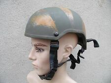 CASQUE MSA GALLET KEVLAR TC3001 TAILLE 57-58 CAMOUFLE / OBSOLETE COMMANDOS AIR