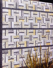 "Yummy - simple modern pieced quilt PATTERN - Jaybird - uses 2.5"" strips"