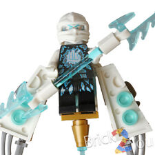 Lego Ninjago Zane from w/ Glider & Weapon 70730 Chain Cycle Ambush