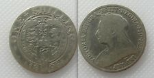 Collectable 1896 Queen Victoria One Shilling - Old Veiled Bust - Lot 2