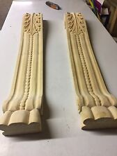 LONG CORBELS CARVINGS MOULDINGS Fire Mantel Fire Surround Kitchen Island Unit