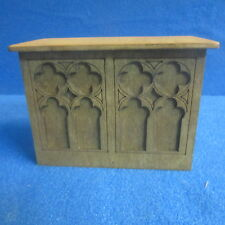 1/12th Dolls House Church Alter   Signed and Dated Item DHD36