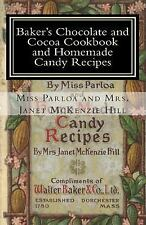 Baker's Chocolate and Cocoa Cookbook and Homemade Candy Recipes : A Vintage...