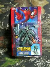 NEW SEALED SPIDER-MAN GREEN GOBLIN MISSILE LAUNCHING GLIDER TOYBIZ MOC MISB AA