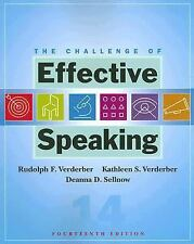 The Challenge of Effective Speaking (Available Titles CengageNOW), Sellnow, Dean