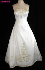 ORG $699 DaVinci Ivory 16 Formal Wedding Dress Bridal A-line Gown