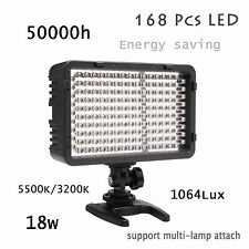 Selens 168 LED Dimmable Ultra High Power Panel Camera Camcorder Video LED light