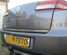 Renault LAGUNA MK III Haatchback 07-15 CHROME Rear Trim Strip Trunk Tuning Boot