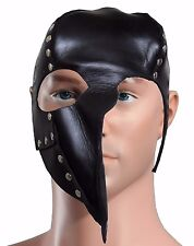 Punk Leather Springy Gothic Cosplay Rock Leather Zombi Face Mask Motorcycle Mask